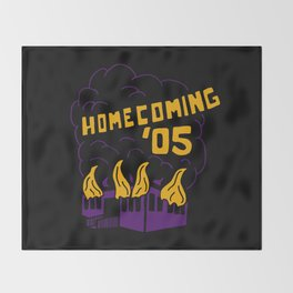 Homecoming '05 Throw Blanket