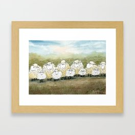 Lambinated Framed Art Print