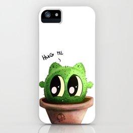 Catus – Hug me iPhone Case