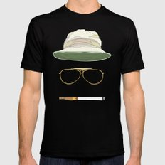 Movie Icons: Fear and Loathing in Las Vegas Black Mens Fitted Tee LARGE
