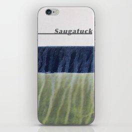 Saugatuck Waterline Project iPhone Skin