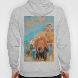 Evocation of Roussel by Odilon Redon Hoody