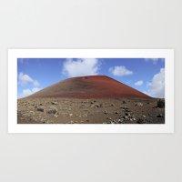 Montaña Colorada Art Print