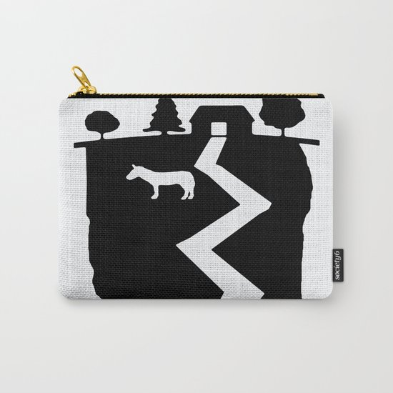 Farm On The Edge Of The World Carry-All Pouch