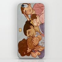 cargline iPhone & iPod Skins featuring kiss kiss fall in love by cargline