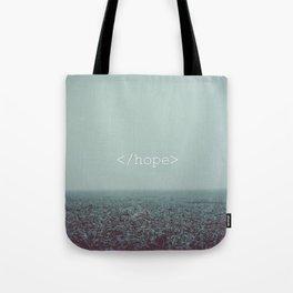 </hope> Tote Bag