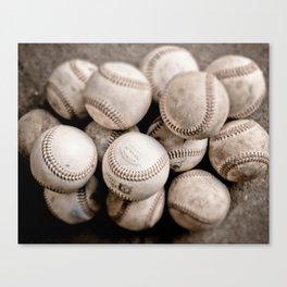 Play Ball Canvas Print