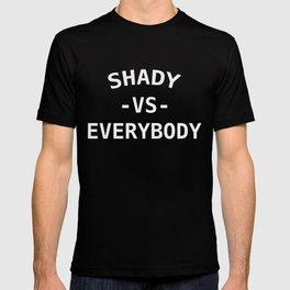 Shady VS Everybody White T-shirt