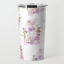 Parfum Perfume Fashion Floral Flowers Blooming Bouquet Travel Mug