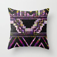 native american Throw Pillows featuring Native American by Ben Geiger