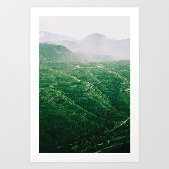 Montes Art Print
