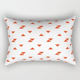 JADE ((cherry red)) Rectangular Pillow