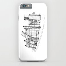Richard Meier - Jubilee Church iPhone 6s Slim Case