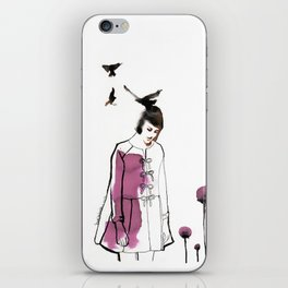 Verba Volant iPhone Skin