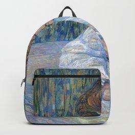 """Henri de Toulouse-Lautrec """"The Reader (La Liseuse)"""" Backpack"""