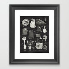 Kept in the Dark Framed Art Print