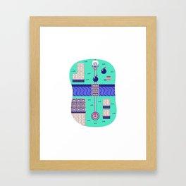 Overworld: Bomba Framed Art Print
