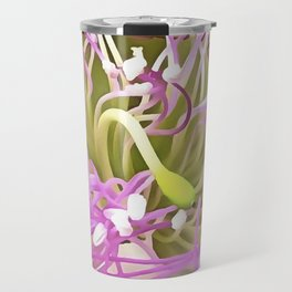 Caper Flower Blossom Travel Mug