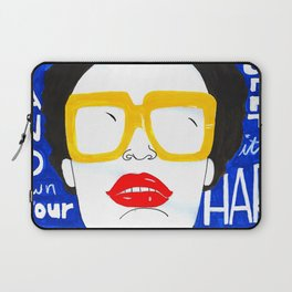 Accept Yourself Laptop Sleeve