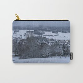 White Snowy Brotterode Carry-All Pouch