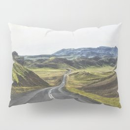 Winding Road Iceland Pillow Sham