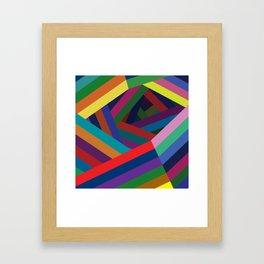 Spiral Lines Framed Art Print