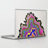 coasters Laptop & iPad Skins featuring Color Wave by Georgiana Paraschiv