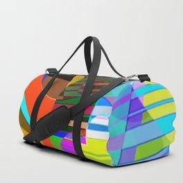 color squares. 3. 2018 Duffle Bag