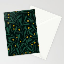 vines and buds Stationery Cards