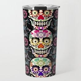 Happy calaveras Travel Mug