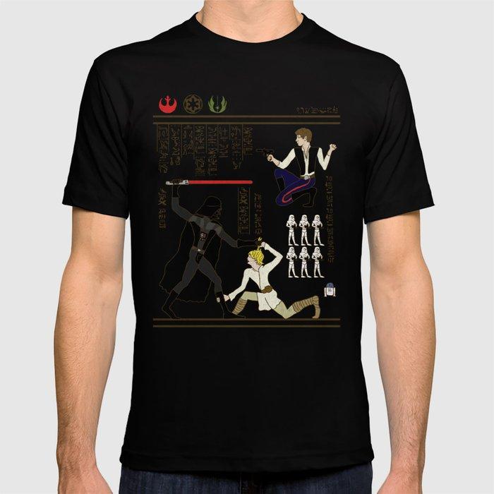 hero-glyphics: The Force T-shirt