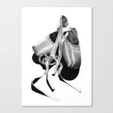 Ballet Dancer Shoes Canvas Print