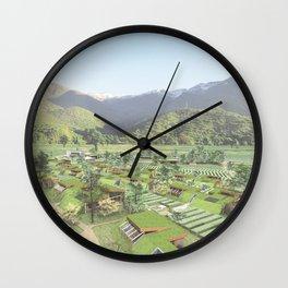 LIVING COMUNITY Wall Clock