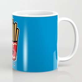 Happy French Fries potato frites fried junk food Coffee Mug