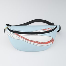 Travel The World - Fun Drawing Plane Fanny Pack
