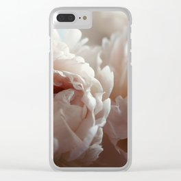 Joyful Unfolding Clear iPhone Case
