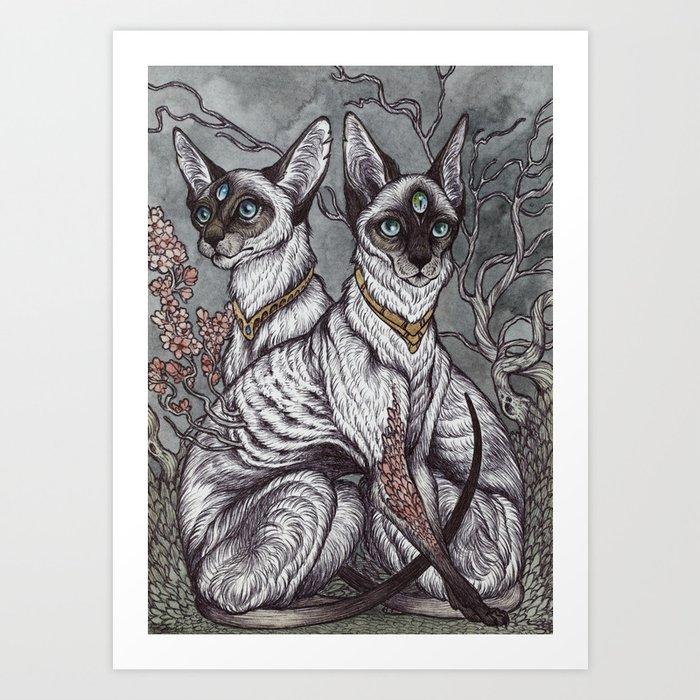Gift of Sight art print Art Print