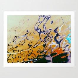 Fluid2 Art Print