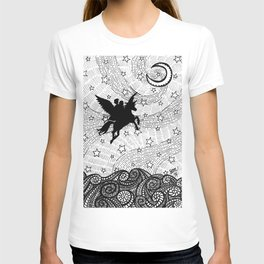Flight of the alicorn T-shirt