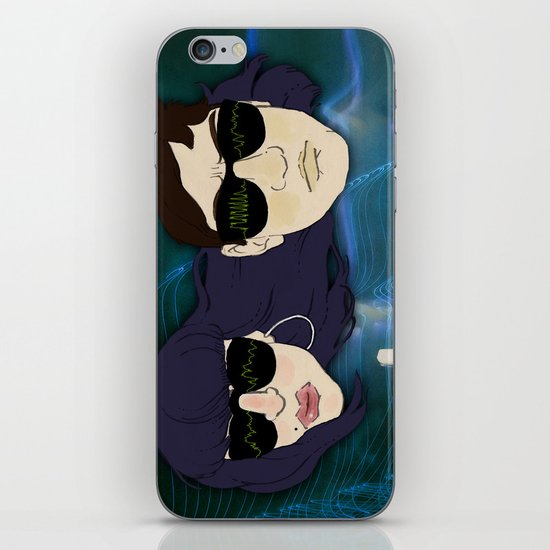 """Reign of Terror"" by Virgina McCarthy & Cap Blackard iPhone & iPod Skin"