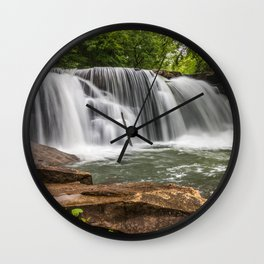 Mill Creek Falls, Ansted, West Virginia Wall Clock
