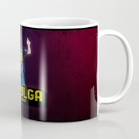 messi Mugs featuring Lionel Messi - La Pulga by Dugout Army