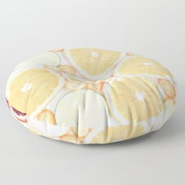 Slices Of Summer Floor Pillow