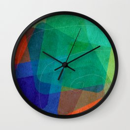 dice heap II Wall Clock