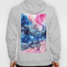 Soul Explosion- vibrant abstract fluid art painting Hoody