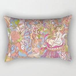 Feast of Saint Lucy Rectangular Pillow