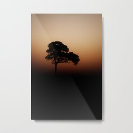 Lone Tree Sunrise Metal Print