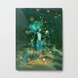 Sea Witch Metal Print