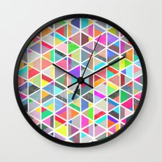 unfolding 4 Wall Clock