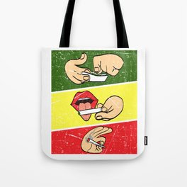 Nice Cannabis Tee For High People Pot Medical Weed T-shirt Design Marijuana Medication Legalized Tote Bag